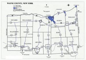 wayne county map