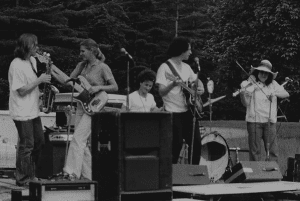 Concert in Field with Betty McDonald