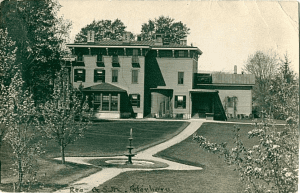 Gerrit and Ann Smiths home in Peterboro