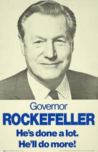 Governor Rockefeller poster