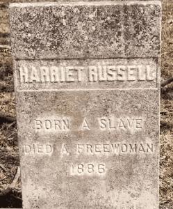 Harriet Russel Grave