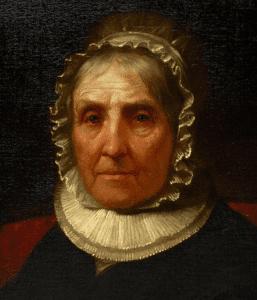 Mrs Alexander Hamilton by Daniel Huntington