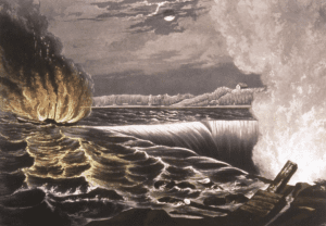 The Destruction of the Caroline by George Tattersall