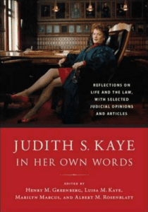 judith kaye in her own words