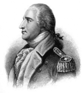 Engraving of Benedict Arnold by HB Hall