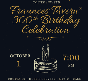 Fraunces Tavern 300th anniversary