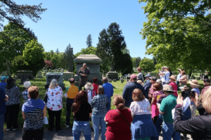 Historic Walking Tour at the Albany Rural Cemetery