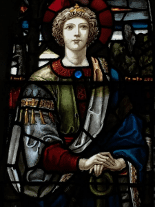 Hope and Charity window
