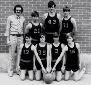 Long Lake Basketball Team 1970s