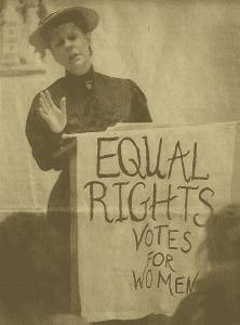 Suffragettes unite
