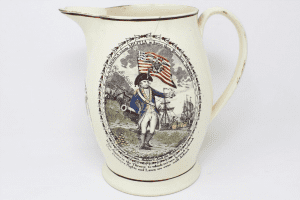 1810s Staffordshire Pitcher courtesy Fort Ticonderoga
