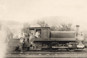 Iron Works Train provided by Friends of Taconic State Park