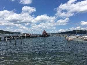 Seneca Lake from Watkins Glen