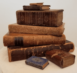 books from the Van Rensselaer library collection