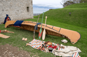 Old Fort Niagara Voyageur Display