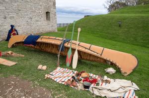 Old Fort Niagara Voyageur Display