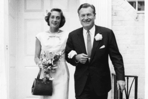 Nelson Rockefeller and wife Mary