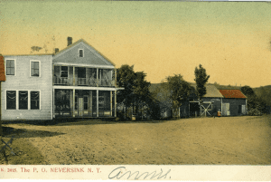 Neversink post office in 1907 provided by June Tillson