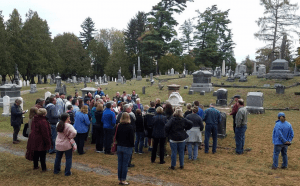 Saratoga Springs Preservation Foundation Twilight Cemetery Tour