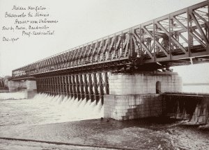 The mother dam in the Czech Republic in 1905
