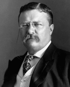 Theodore Roosevelt portrait courtesy United States Library of Congress Prints and Photographs division