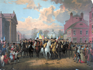 Evacuation Day and Washingtons Triumphal Entry by Edmund P Restein