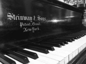 Seward House Museum 1872 Steinway piano