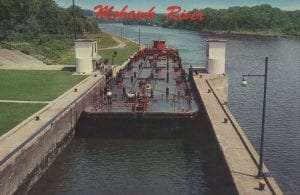 West Bound on Mohawk River