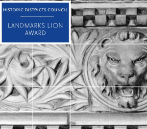 landmarks lion award