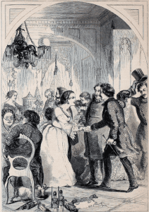 New Years Day in New York Harper's Weekly January 1 1859