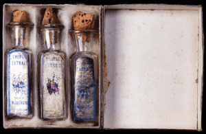 Perfume bottles found in Sylvias trunk