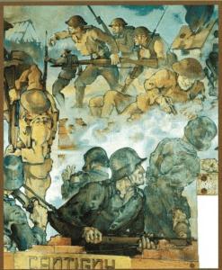 Cantigny Mural