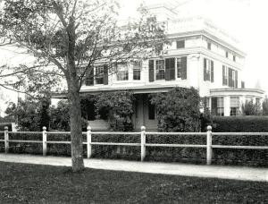 Captain Albert Rogers Mansion c 1890