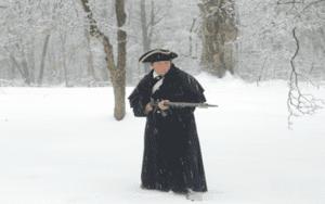 Continental Army Soldier Matt Thorenz from Wallkill