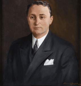 NYS governor charles poletti by Edward Pierre Buyck