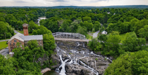 The falls near Kinderhook courtesy Tony Cenicola The New York Times