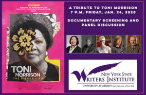 toni morrison at writers institute