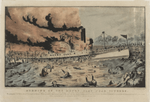 Burning of the Henry Clay