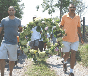 Emancipation Day wreath laying