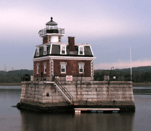 Hudson-Athens Lighthouse on the Hudson River