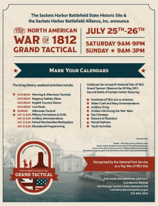 war of 1812 grand tactical