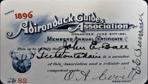 Adirondack-Guides-Assoc-Card-for-John-E-Ball