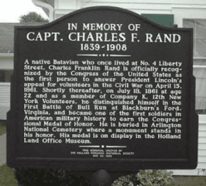 Charles F Rand Monument