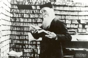 James Murray in his scriptorium courtesy Oxford University Press Archive