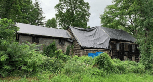 Odell House Under Wraps