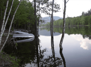 scenic view of the Rondout Reservoir