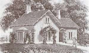 Andrew Jackson Downings design for a small cottage