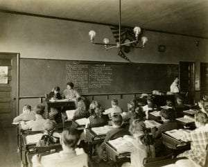 Batavia Public School courtesy NYS Archives