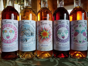 Brandy Brook Maple Farm and Olde Tyme Winery fruit wines