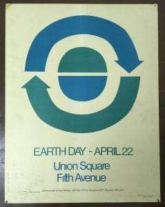 Environmental Action Coalition poster for inaugural Earth Day - Environmental Action Coalition records - Manuscripts and Archives Division